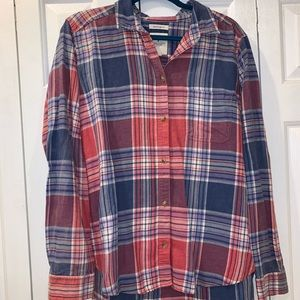AE 'Boyfriend' fit flannel shirt!